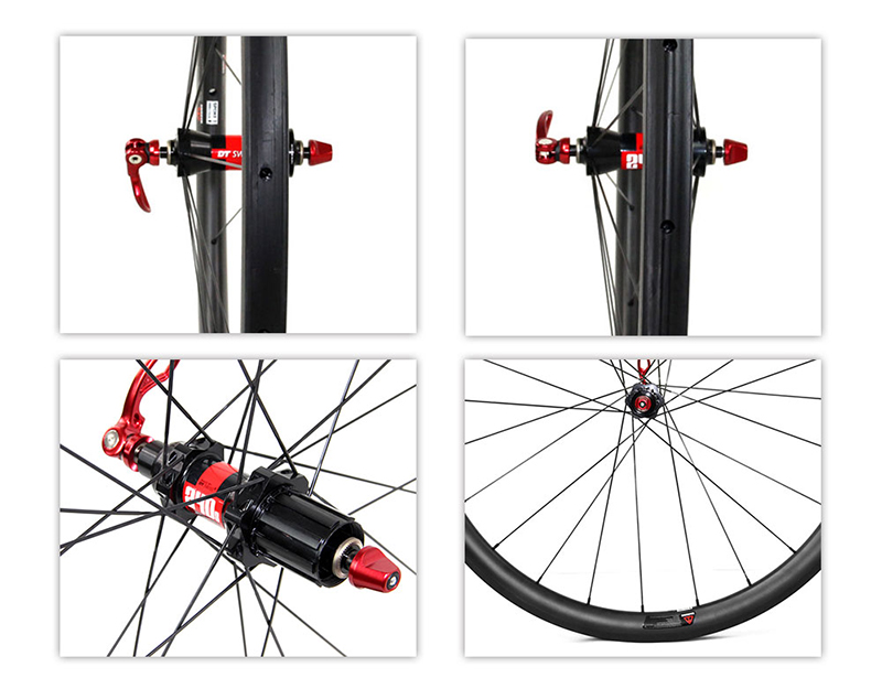 carbon road wheels with dt240 hubs