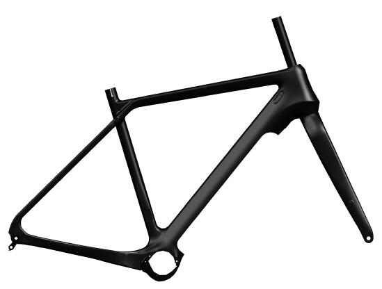 gravel e-bike frame